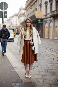 kristina photographed by stockholm street style  #modestfashion #modestdress #tzniutfashion #classicdress #formaldress #kosherfashion
