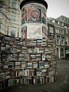 Love this street book, free librari, book worth, book book, bookstor, book market, bookshelv, junk bookshop, daric
