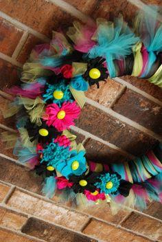 Fun Spring and Summer Wreath