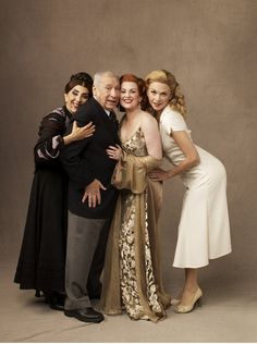 Andrea Martin, Mel Brooks, Megan Mullally, Sutton Foster.  Young Frankenstein.