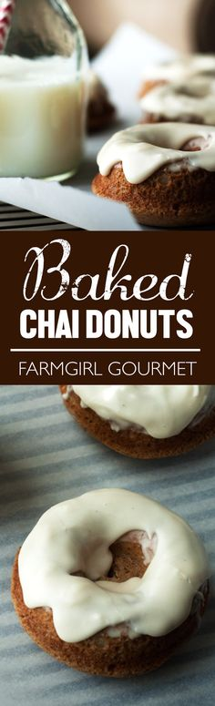Baked Chai Donuts re