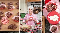 Make your own Valentine's Day chocolate box! #pauladeen
