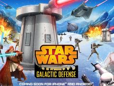 "If you were concerned that the ""Star Wars"" franchise might leave any game genre unturned, rest easy. Star Wars: Galactic Defense is coming soon for Android and iOS, marking the first time the Rebel Alliance and Galactic Empire will duke it out in a tower-defense setting."