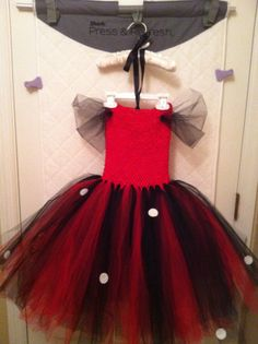 MINNIE MOUSE inspired tutu costume