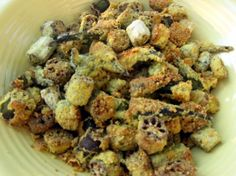 Baked Cut Okra from Food.com:   Ruby Mae Bromley operated Mrs. Bromley's Dining Room in Clarendon, Texas many years ago. She was known throughout the area for her good country home cooking. If you like fried okra, you'll love this way of preparing it.