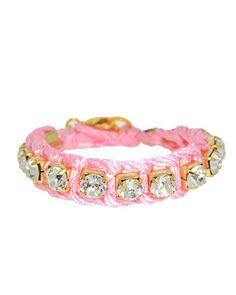 Pink Rhinestone Bracelet