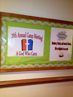 2013 Camp Meeting board!