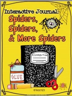 SPIDERS - Interactive Journal, Task Cards, and More