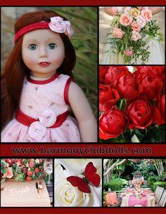 """18"""" Dolls and 18"""" doll Fashions. www.harmonyclubdolls.com"""