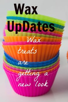 Few updates on the new look of wax treats, no more paper wrapper enjoy :)