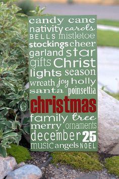holiday, christmas signs, season, christma decor