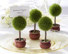 DIY: Topiary Escort Cards