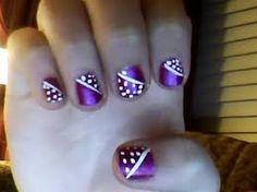 nailart, nail designs, nail art designs, purple nails, nail arts, winter nails, winter nail art, short nails, dot