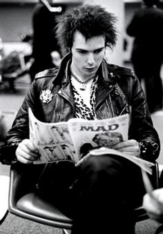 Sid Vicious. | Black and White