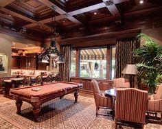 Home Billiard Room Ideas | Room Decorating Ideas: Game Room Decorating Ideas Classic Style Room ...