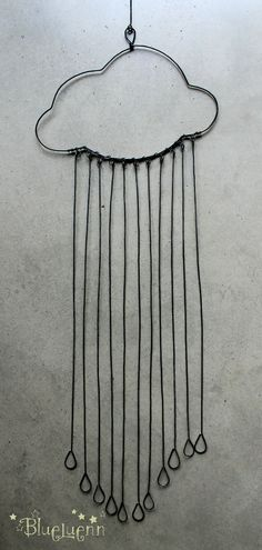 A little wire raincloud