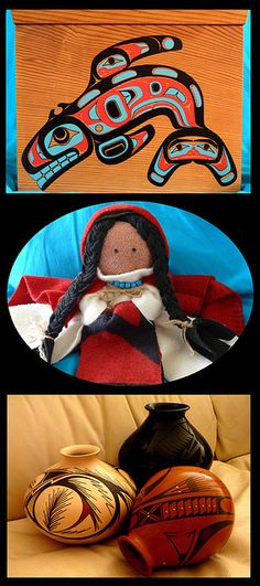 Native American Art by ohkayeor (In San Diego), via Flickr