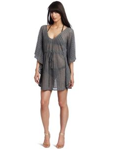 Echo Design Women's Crochet Butterfly Tunic Top « Clothing Impulse