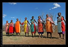 African tribes clothing....