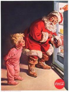 I like the coca cola santa clause best