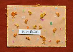 Quilled handmade easter cards - Szalonaisa's Wonderland: Bye, bye to Easter cards / Pa, pa do Wielkanocnych karteczek