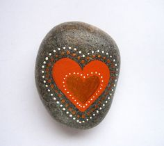Heart stone/paperweight