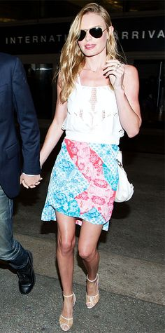 Kate Bosworth in H&M and Topshop