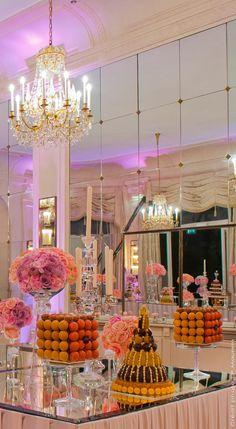 Lenôtre - Réception au Pré Catelan, Paris 16e buffet tables, candy buffet, dessert tabl