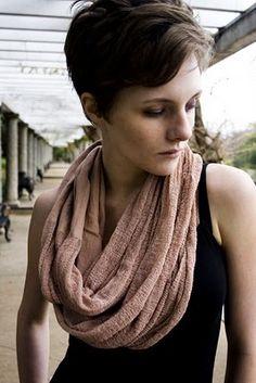 circles, etern scarf, diy etern, tshirt shred, circl scarf, scarves, shred techniqu, hair