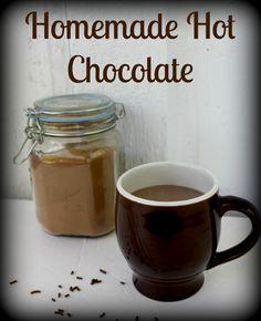 The best Homemade Hot Chocolate mix around!