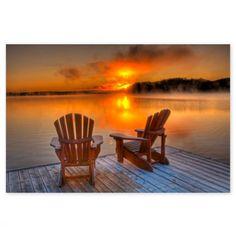 Gorgeous orange sunset - http://orangekitchendecor.siterubix.com/  #ppgorange