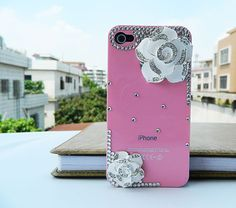 iPhone  4 case  iPhone cover 4 color Camellia flowers by dnnayding, $21.99