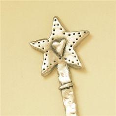 <3 wand kidsgiftidea, silver star, star heart, lisaleonard, fairi, art wand, heart insid, magic wands, christma