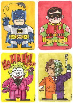 """""""Batman & Friends"""" by Matt Kaufenberg."""