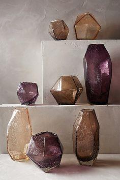 Faceted Gem Vase -