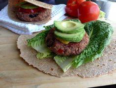 Mediterranean Bean Burgers by Plant-Powered Kitchen