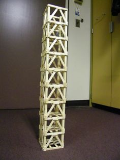 How to Build a Popsicle Stick Tower