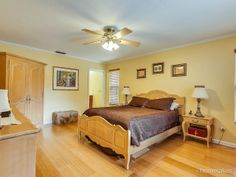 Master Suite with Bamboo Floors