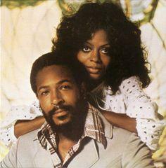 Marvin Gaye y Diana Ross.