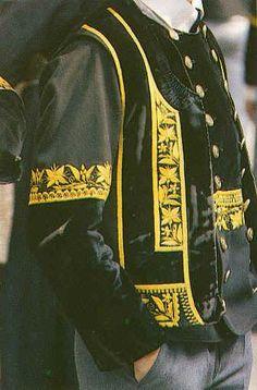 Elliant - pays Melenig - Costume d'homme
