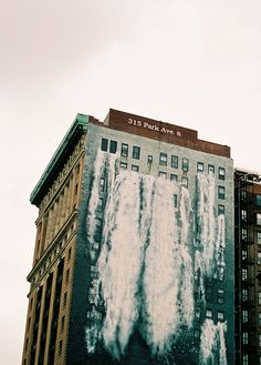 waterfalls Banksy