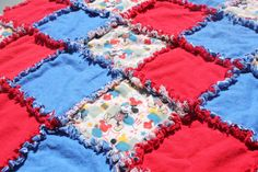 Mickey Mouse Inspired Rag Quilt