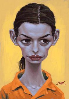 Anne Hathaway by em..._
