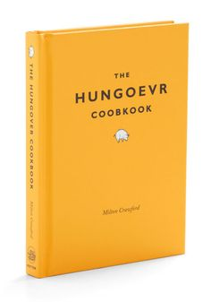 The Hungoevr Coobkook - This hilarious book gives you recipes based on how hung over you are.  http://rstyle.me/n/diag9nyg6