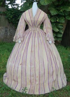 Surplice Day Dress c.1859