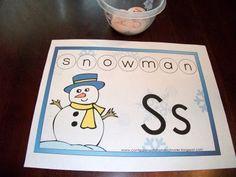 Winter Preschool Unit.