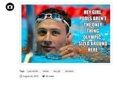 Ryan Lochte 'Hey Girl'