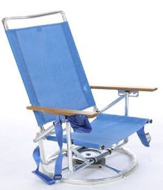 The Suntracking Beach Chair.  I NEED this