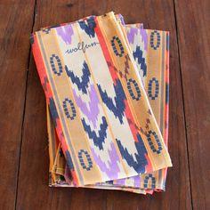 sereno napkins by wolfum.