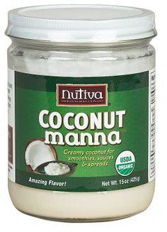 Nutiva Coconut Manna Spread (15oz) -1 Net Carb